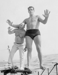 19-летний Андре Гигант в Каннах, 1967 год