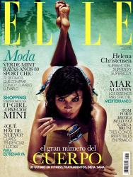 Хелена Кристенсен для Elle España Май 2013