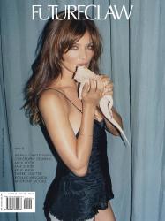 Хелена Кристенсен в фотосессии для FutureClaw Magazine