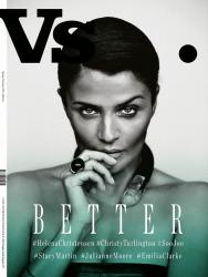 Хелена Кристенсен для Vs. Magazine, весна 2014
