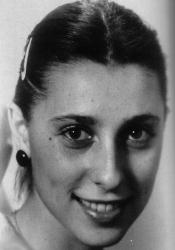 Юлия Рутберг в молодости