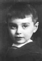 Вениамин Смехов в детстве