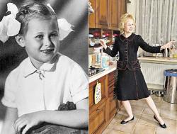 Дарья Донцова в детстве