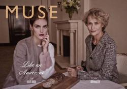 Лорен Хаттон и Хилари Рода в фотосессии Мариано Виванцо для журнала MUSE #35, осень 2013