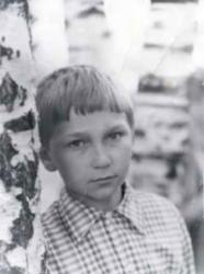Игорь Угольников в детстве