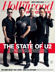 U2 для The Hollywood Reporter, февраль 2014