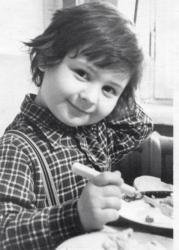 Станислав Костюшкин в детстве