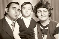Кирилл Андреев в детстве