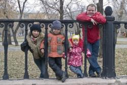 Семья Евгения Никишина