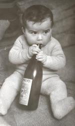 Денис Клявер в детстве