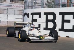 Дебютное F1-соревнование Мики Хаккинена, Гран-при США, 1991 год