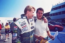 Мика Хаккинен и Михаэль Шумахер, 1992 год