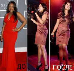Дженнифер Хадсон: до и после похудения