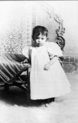 Марта Грэм в детстве