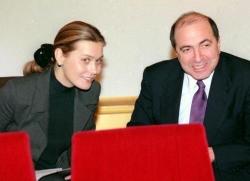 Борис Березовский и его семья