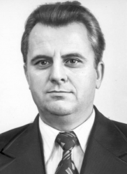 Леонид Кравчук в молодости