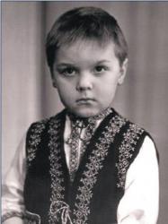 Олег Тягнибок в детстве