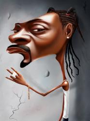 Карикатуры на Снуп Догга