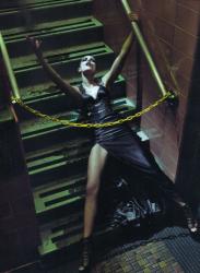 Ри Расмуссен для журнала Vogue