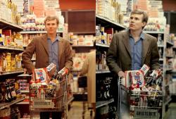 Энди Уорхол в супермаркете Gristedes в Нью-Йорке, 1965 год