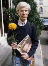 Энди Уорхол в Париже, 1981 год