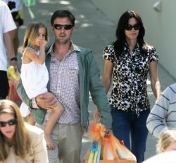 Дэвид Аркетт и его дочь
