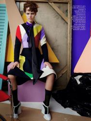 Фрея Беха Эриксен в фотосессии Марио Тестино для Vogue UK, сентябрь 2014