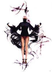 Эдита Вилкевичуте на страницах Vogue China Collections Spring 2011