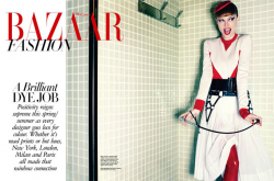 Коко Роша в Harper's Bazaar Singapore