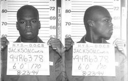 50 Cent, 1994 год. Тогда 19-летний бандит, осужденный за торговлю наркотиками.