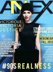 Виктория Джастис на обложках журналов
