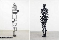 Деконструкция собственного тела Antony Gormley