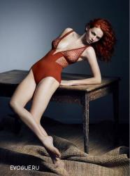 Тиа Экхардт в рекламе Eres Lingerie