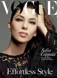 София Коппола в фотосессии Стивена Мейзела для Vogue Italia, февраль 2014