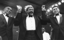 Майк Тайсон, Мохаммед Али и Дон Кинг вместе, 1989 год