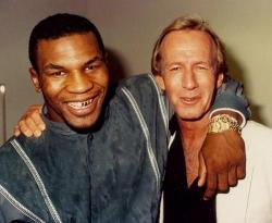 Майк Тайсон и «Крокодил Данди» Пол Хоган, 1986 год