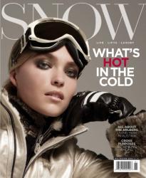 Аризона Мьюз для Snow Magazine