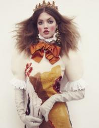Линдси Уиксон для Vogue Japan, декабрь 2013