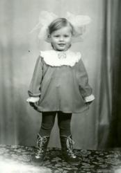 Ольга Фреймут в детстве
