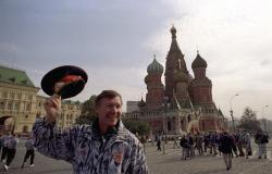 Алекс Фергюсон в Москве перед ответной игрой 1/32 финала кубка УЕФА против «Торпедо», 29 сентября 1992 год