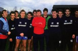 Первая тренировка Алекса Фергюсона в качестве тренера Манчестер Юнайтед, ноябрь 1986 года
