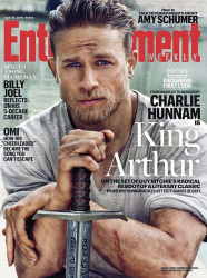 Чарли Ханнэм для Entertainment Weekly, июль 2015