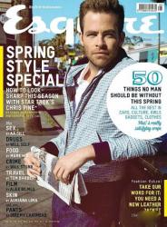 Крис Пайн для Esquire UK