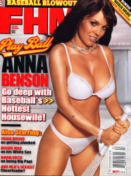 Анна Бенсон для FHM Magazine