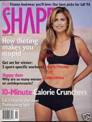 Кэти Айрленд на обложках журналов