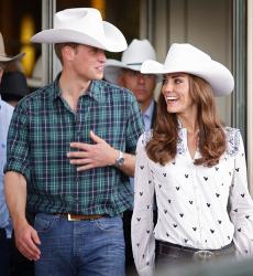 Веселые приключения принца Уильяма и Кейт Миддлтон в Канаде