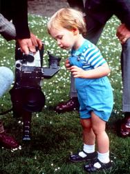 Детские фотографии Принца Уильяма