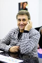 На занятии с Алексеем Литвиновым