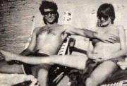 Принц Чарльз и Принцесса Диана во время отдыха на Багамах, 1982 год