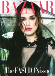 Кира Найтли в Harper's Bazaar UK